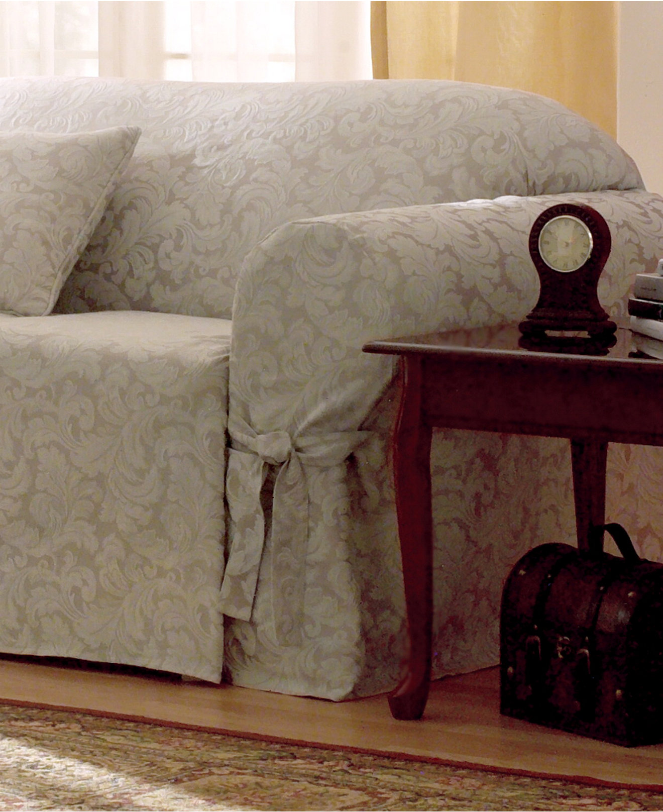 Sure Fit Scroll Furniture Slipcovers - Slipcovers - For The Home ...