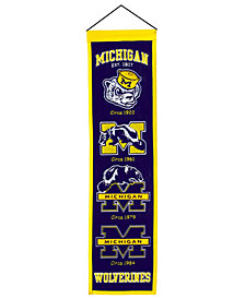 Winning Streak Michigan Wolverines Heritage Banner