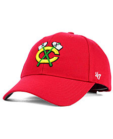 '47 Brand Chicago Blackhawks Curved MVP Cap