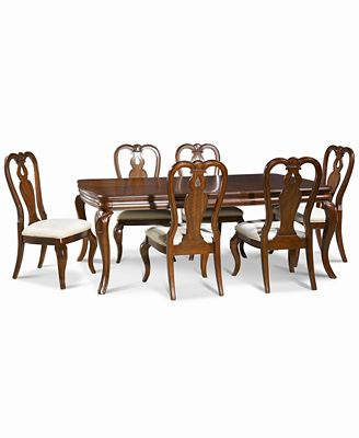 bordeaux 7-pc. dining room set, created for macy's, (dining table