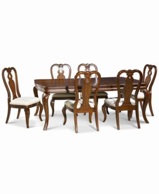 bordeaux 7pc dining room set only at macyu0027s dining table - Dining Room Sets