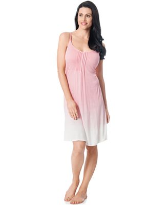 Bump In The Night™ Maternity Ombre Nursing Nightgown - Maternity ...