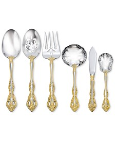 Golden Michelangelo 6-Pc. Serving Set