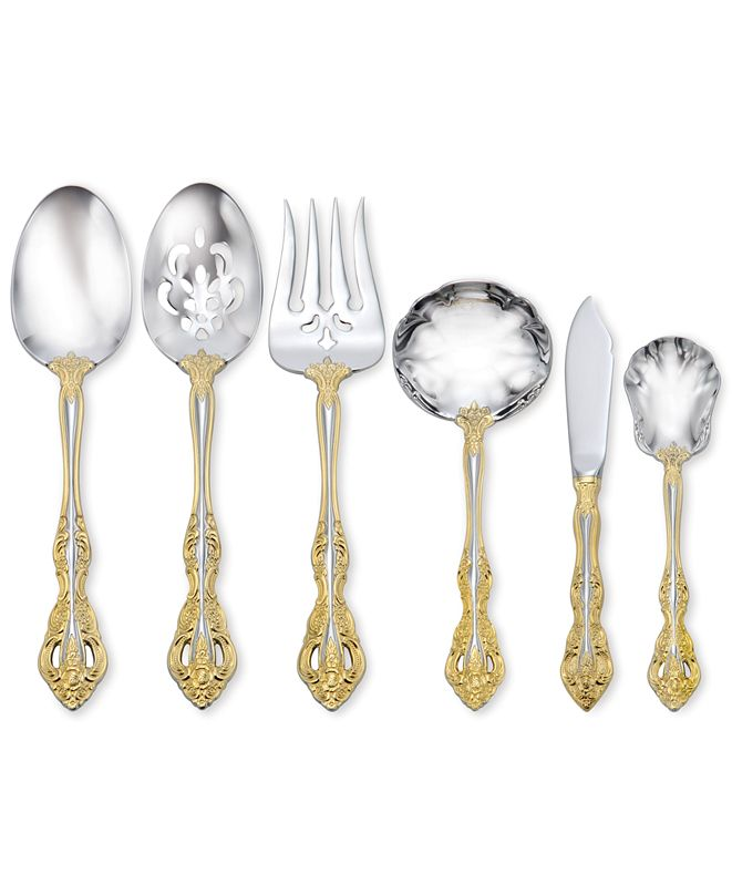 Oneida Golden Michelangelo 6-Pc. Serving Set