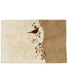 Bath Rug, Gilded Birds