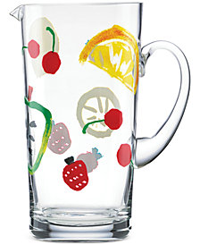 kate spade new york all in good taste Glass Pitcher