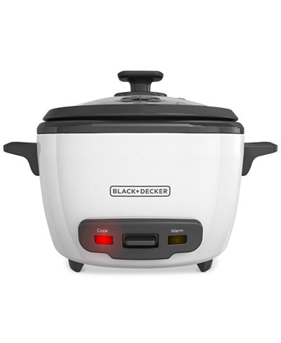 Black & Decker RC516 16-Cup Rice Cooker And Warmer