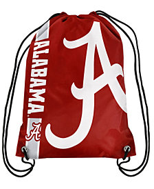 Forever Collectibles Alabama Crimson Tide Big Logo Drawstring Bag