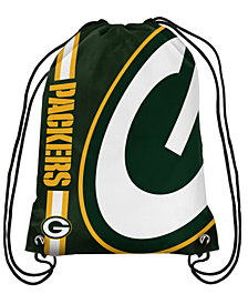 Forever Collectibles Green Bay Packers Big Logo Drawstring Bag