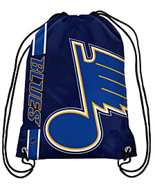 Forever Collectibles St. Louis Blues Big Logo Drawstring Bag