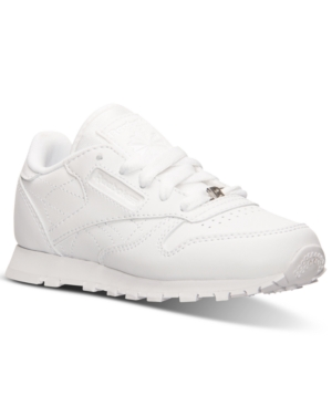 Reebok Little Boys' Classic Leather Casual Sneakers from Finish Line