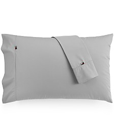 Tommy Hilfiger Solid Core Pair of Standard Pillowcases