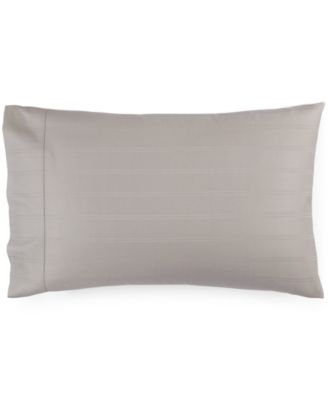CLOSEOUT!  600 Thread Count Striped Standard Pillowcase