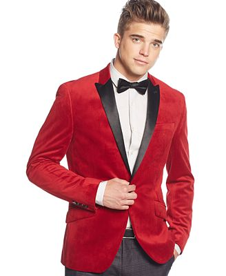 red suede suit jacket dress yy