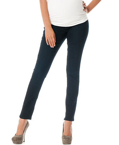 Fade To Blue Maternity Skinny Jeans, Dark Wash - Maternity - Women ...
