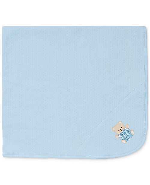 Little Me Baby Boys Cute Bear Blanket