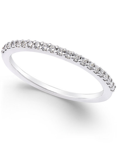 Thin Diamond Band (1/8 ct. t.w.) in Platinum