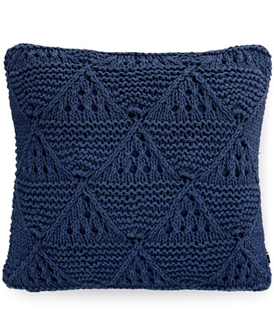 Tommy Hilfiger Decorative Bed Pillows : Tommy Hilfiger Bar Harbor Navy 20