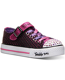Skechers Little Girls' Twinkle Toes: Shuffles - Mysticals Light-Up Sneakers from Finish Line