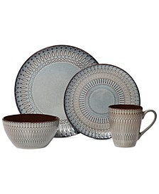Gourmet Basics by Broadway 16-Pc. Set, Service fo r4