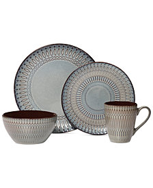Gourmet Basics by Mikasa Broadway 16-Pc. Set, Service fo r4