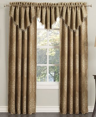 CLOSEOUT! Sun Zero Paige Woven Damask Room Darkening Collection