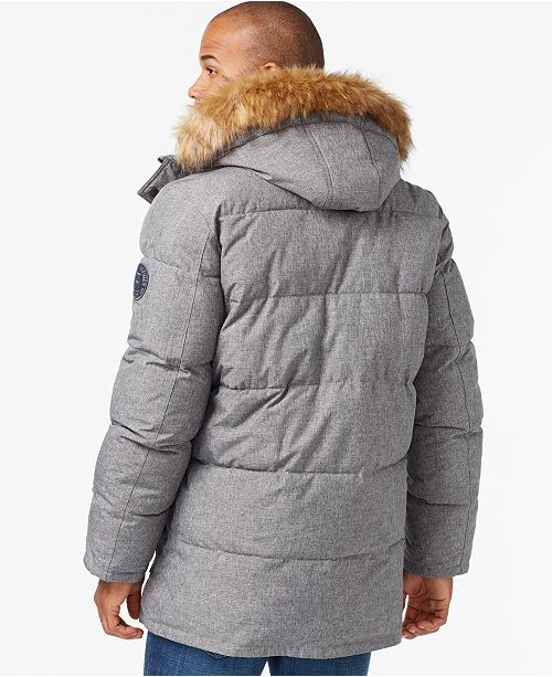 74a4bd4426a Tommy Hilfiger Men s Big   Tall Long Snorkel Coat   Reviews - Coats ...