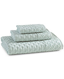 Kassatex Wash Towels, Diamant Collection