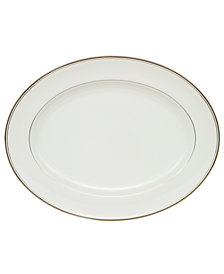 Waterford Kilbarry Platinum Oval Platter