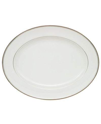 Waterford Kilbarry Platinum Oval Platter
