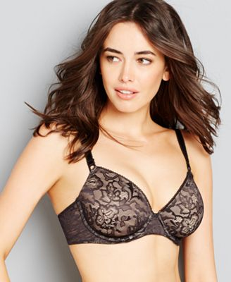 Bali One Smooth U Lace Underwire Bra 3516 - Lingerie & Shapewear ...