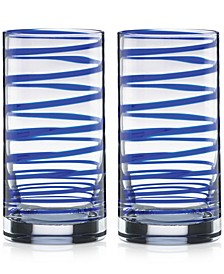Charlotte Street Highball Glasses, Set of 2