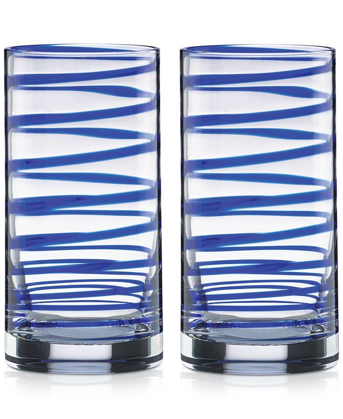 kate spade new york - Charlotte Street Highball Glasses, Set of 2