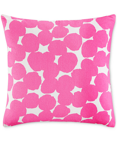 Throw Pillows One Kings Lane : kate spade new york Shocking Pink Random Dot 18