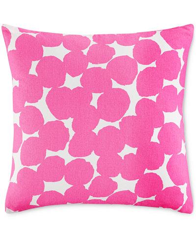 Throw Pillows One Kings Lane : kate spade new york Shocking Pink Random Dot 18