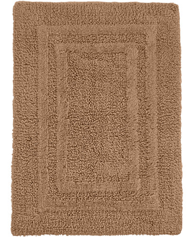 Hotel collection cotton reversible 27 x 48 bath rug bath rugs bath mats bed bath macy 39 s for Hotel collection bathroom rugs