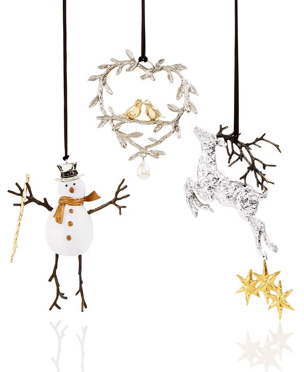 Michael Aram Christmas Ornaments Collection & Reviews ...