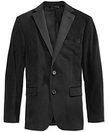 Lauren Ralph Lauren Solid Dinner Jacket, Big Boys Husky
