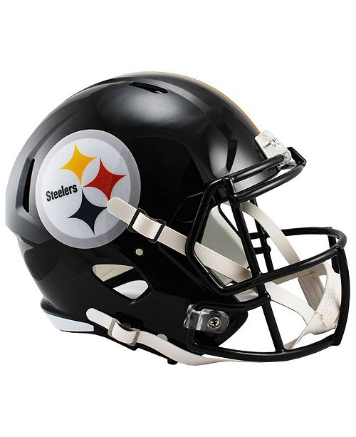 size 40 10ca6 d22ce Riddell Pittsburgh Steelers Speed Replica Helmet & Reviews ...
