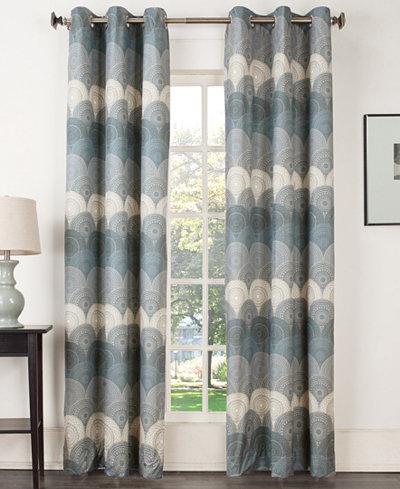 Sun Zero Deco Thermal Lined Curtain 40