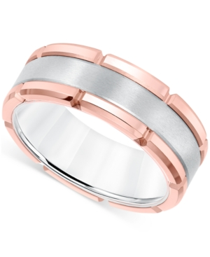 Men's Brushed Comfort-Fit 8mm Wedding Band in