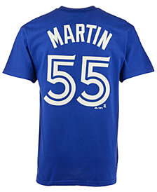 Majestic Men's Russell Martin Toronto Blue Jays Player T-Shirt