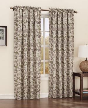 "Sun Zero Adirondack Room Darkening Woven Curtain 54"" x 84"" P"