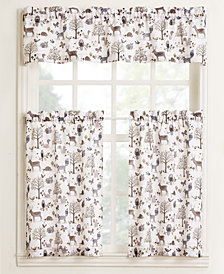 Lichtenberg Forest Friends Tier & Valance Collection