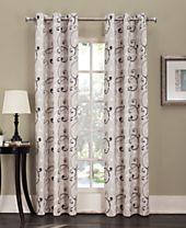 Lichtenberg Sarina Printed Grommet Curtain Panel Collection