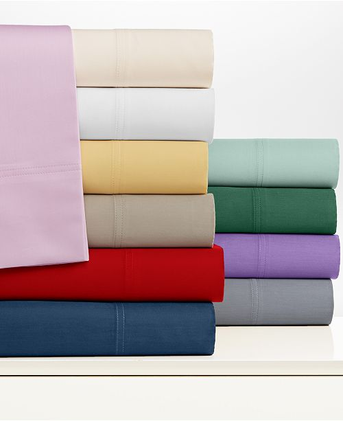 Sheet Sets 300 Thread Count Egyptian Cotton Blend Created For