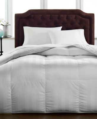 hotel collection medium weight siberian white down comforters ultraclean down created