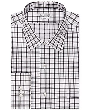Van Heusen Licorice Check Dress Shirt
