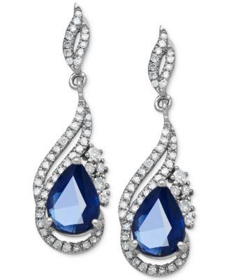 Image result for Sapphire Earrings