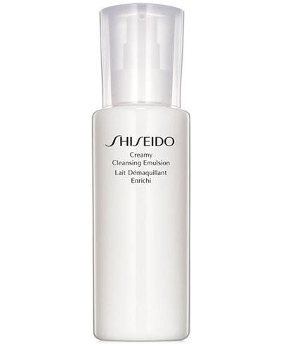 Shiseido Essentials Creamy Cleansing Emulsion, 6.7 oz
